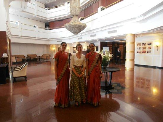 Howard Plaza The Fern Agra: Hall del hotel