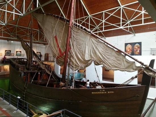 Bartolomeu Dias Museum Complex: Replica of Dias' ship