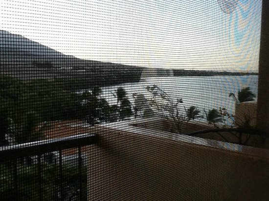 Hyatt Regency Maui Resort and Spa: Turn your neck for the ocean view!