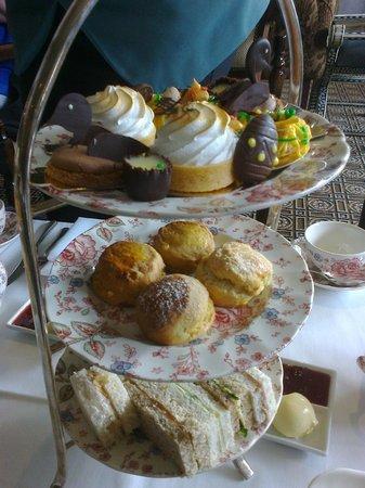 โรงแรมรูเบนส์ แอต เดอะ พาเลส: Rubens tea