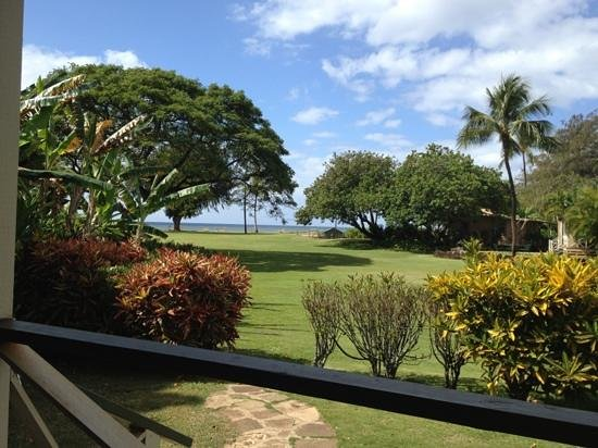 Waimea Plantation Cottages: view from back