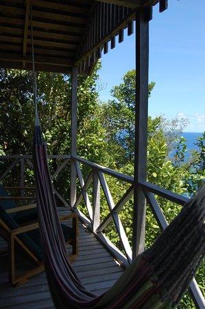 Jungle Bay, Dominica: Cottage #3 at Jungle Bay 138 Steps Up!