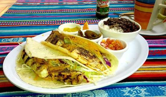 Big Daddy's Grill: Grilled Fish Tacos