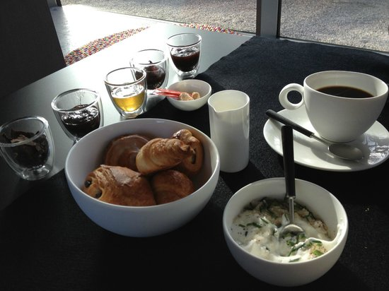 Pure Hotel Notarishuys: Small part of the breakfast