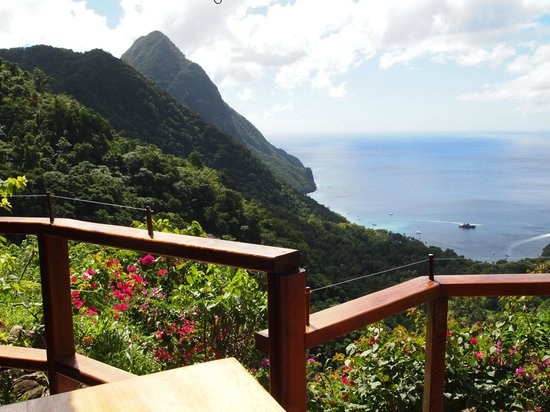 ‪‪Ladera Resort‬: View from the restrurant‬