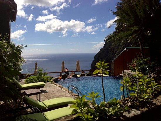 Ladera Resort: View from the pool