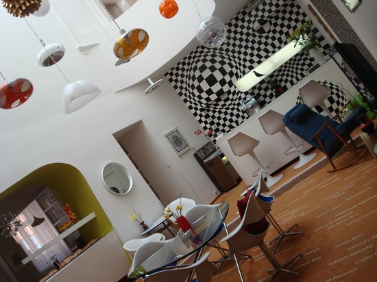 Vintage Design Hotel Sax: Restaurant