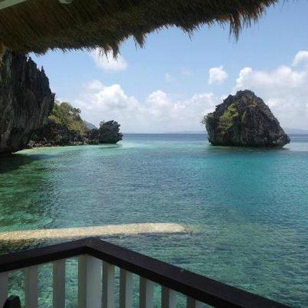 El Nido Resorts Apulit Island: vue du balcon