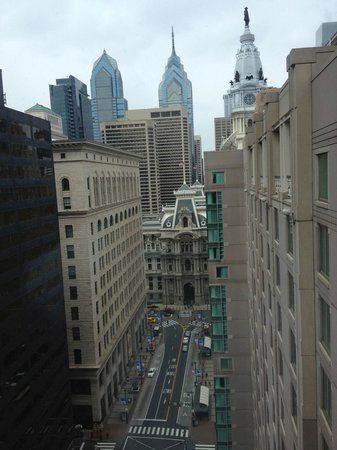 Philadelphia Marriott Downtown: Nice view from the 23rd floor