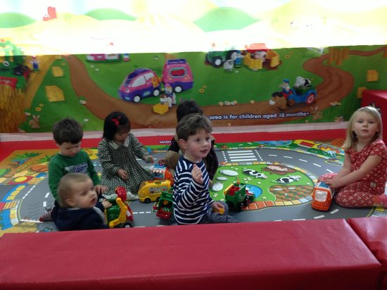 Raze the Roof Indoor Play & Laser Tag: Playing with toys in the WOW play zone