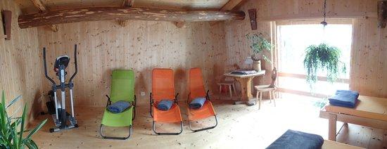 Hotel Ducan: Liegeraum Sauna