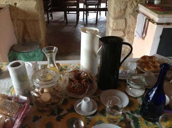 Casale Fonte Vetriana B&B: colazione