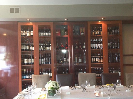 Luci Restaurant : Wine Room