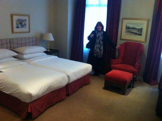 Sheraton Grand London Park Lane: Twin suite