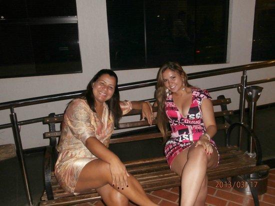 Tarobá Hotel: Izabel e Jessica