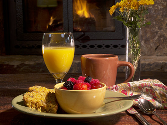 Niwot Inn & Spa: A hearty continental breakfast