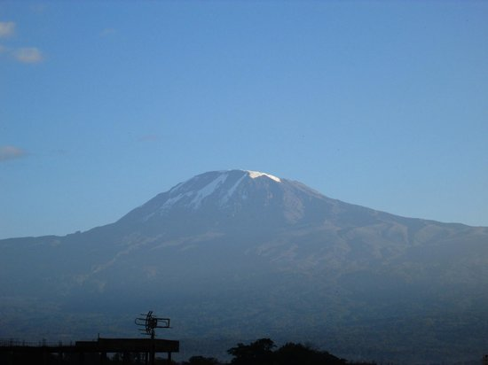 Kindoroko Hotel: Kilimanjaro from 3rd floor room