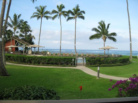 Kahana Village: View of pool and ocean
