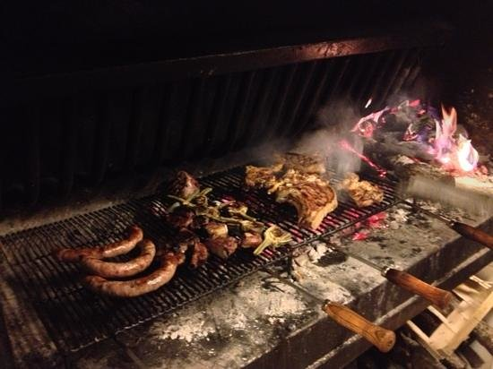 Restaurant can Xifra : the grill!