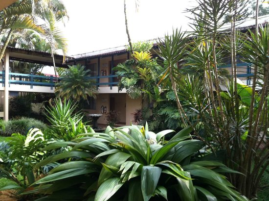 Hotel del Sur : One of the courtyards