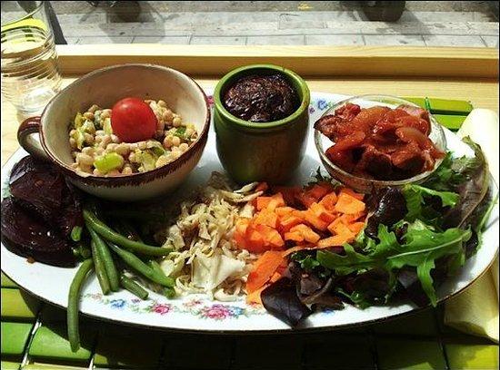 La Reine des Quiches : salade du jour