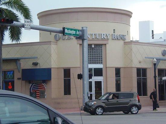 Jazz on South Beach Hostel : la vue de la rue
