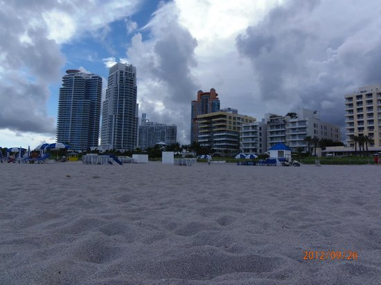 Jazz on South Beach Hostel : la plage
