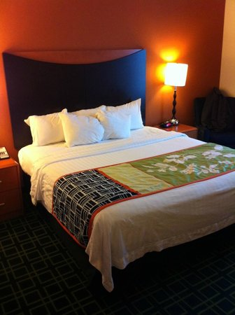Fairfield Inn & Suites by Marriott Madison East: King Bed