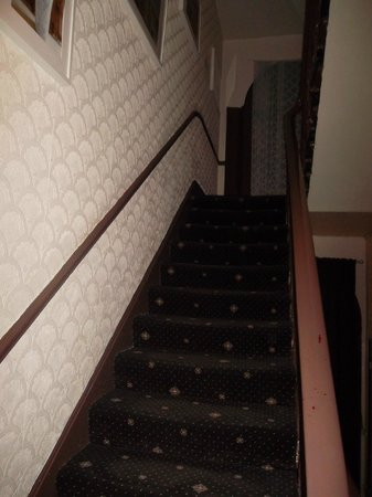 Tony's House Hotel: Le scale dell'entrata