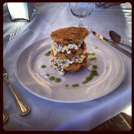 The Table at Crestwood : Fried Green Tomatoes