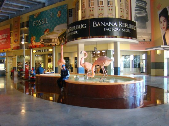 Visual externo do Fashion Outlets em Las Vegas Picture of