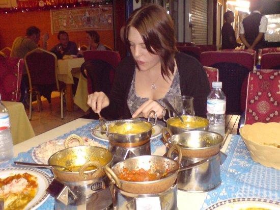 Star of Bengal: Dinner