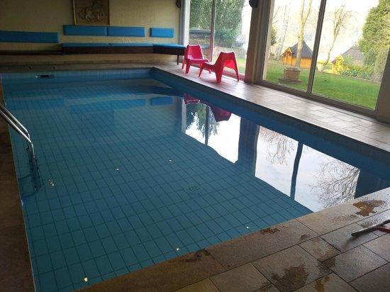 Au Lion d'Or : La piscine