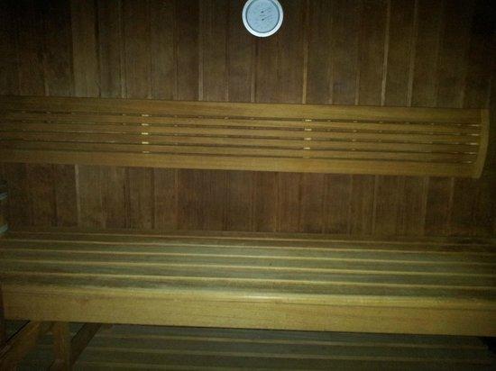 Au Lion d'Or : Le sauna