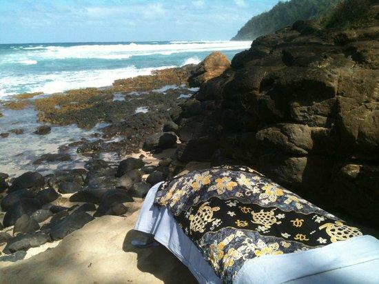 Aloha Massage Kauai: A perfect location for Beach Massage!