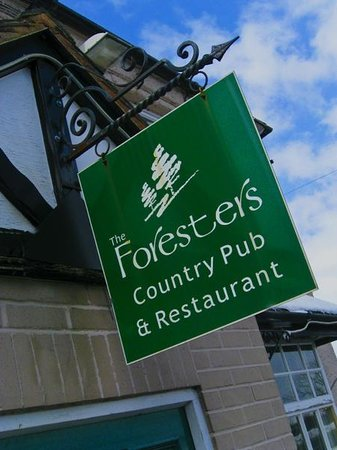 The Foresters Yoxall: A swinging sign for a great pub