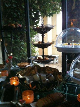Villa Gallici : mets du petit déjeuner