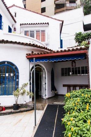 Lagoa Guest House: Entrada