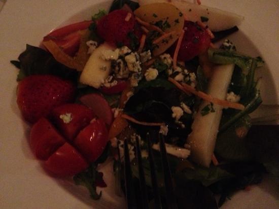 Il Galeone : insalata con frutta e blue cheese