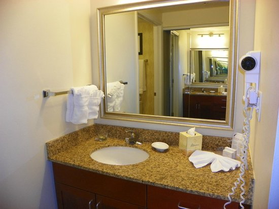 Residence Inn St. Louis Downtown: Bathroom
