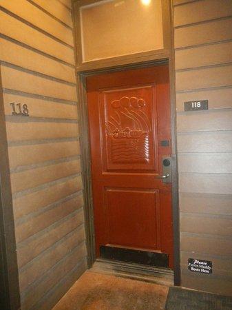 Rough Creek Lodge: Room Door