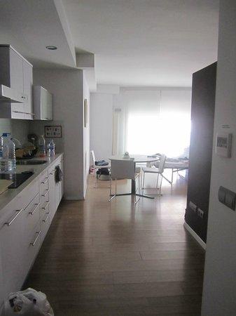 Valenciaflats Centro Ciudad: Cucina + soggiorno