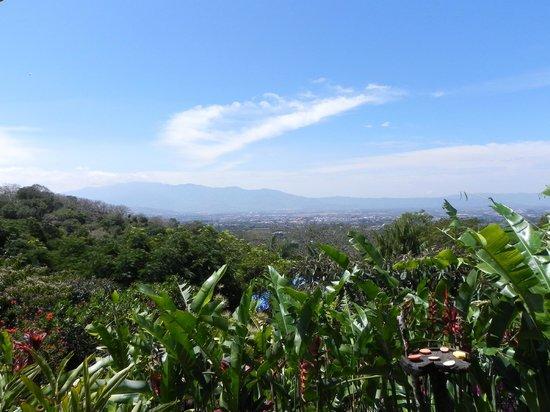Xandari Resort & Spa: View over Alajuela