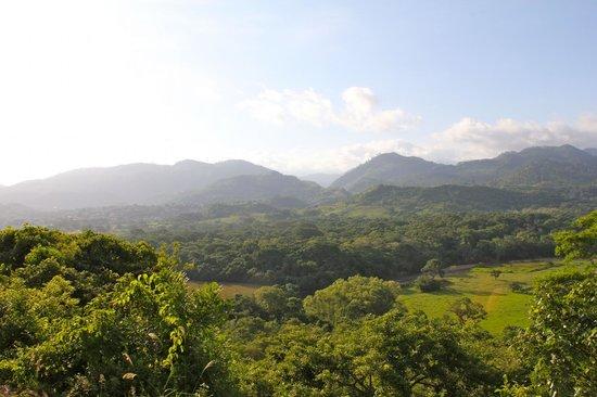 Hacienda la Esperanza: View from the mountain