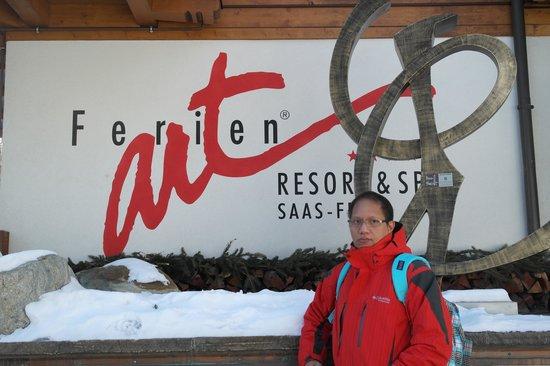 Ferienart Resort & Spa: from the Outside