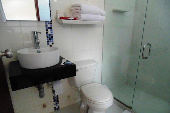 Hotel Portal de San Diego: Banheiro