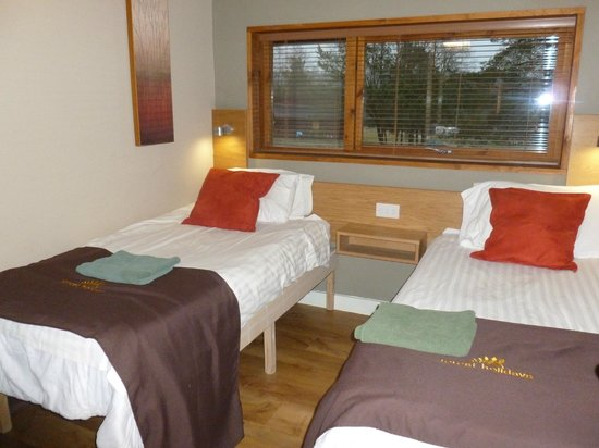 Forest Holidays Cropton, North Yorkshire: Twin room
