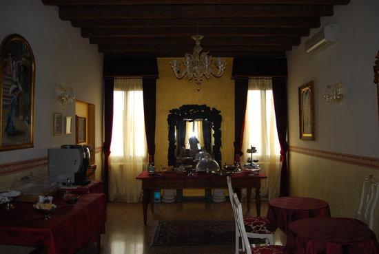 Hotel Villa Gasparini: la sala colazione