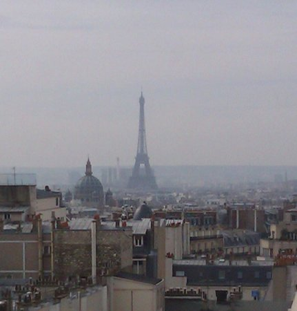 Mercure Paris Montmartre Sacre Coeur: view from room 946