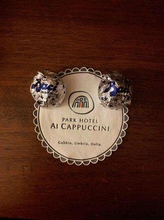 Park Hotel Ai Cappuccini: Baci di benvenuto